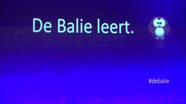 De Balie Leert - Onderwijs-debat serie  afl. 1