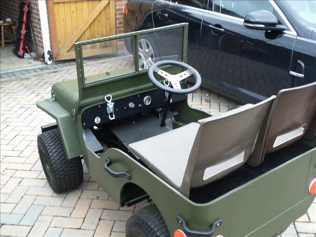 Home Made Mini Jeep First Outing On Vimeo