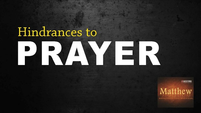 "10/5/2013 ""Hindrances To Prayer"" — Pastor Shane Idleman on Vimeo"