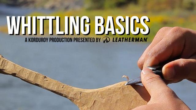 whittling basics