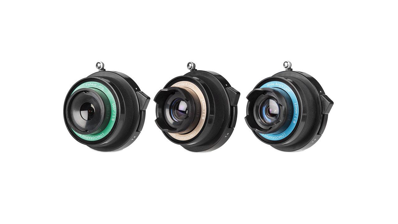 The Lomography Experimental Lens Kit