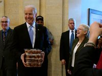 Vice President Biden Welcomes EPA Employees Back to Work