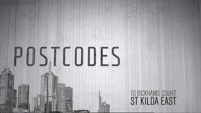 Postcodes - Episode 41 - 10 Bickhams Court, St Kilda East