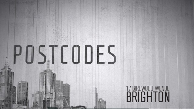 Postcodes - Episode 43 - 17 Birdwood Avenue, Brighton