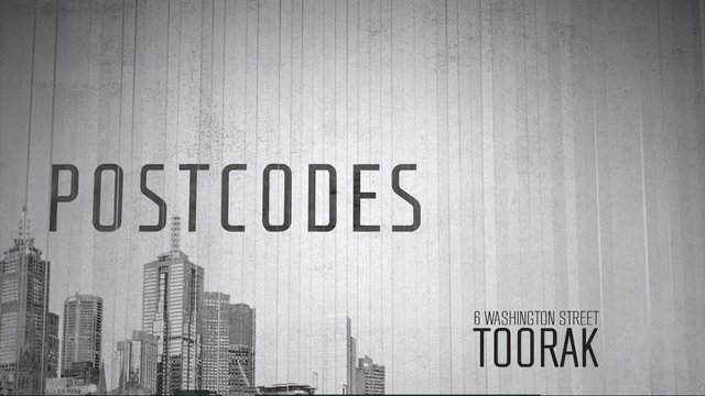 Postcodes - Episode 53 - 6 Washington Street, Toorak