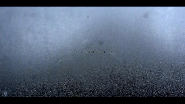 Короткометражный фильм les éphémères