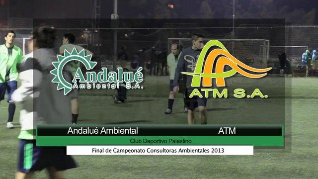 Final Campeonato Futbolito Consultora Ambientales 2013