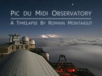 Timelapse at the Pic du Midi Observatory