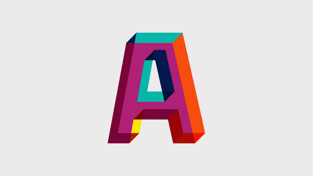 Animating typeface Viva!