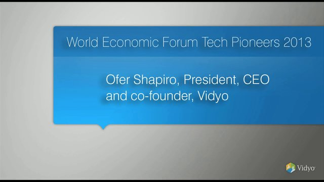 World Economic Forum Tech Pioneers