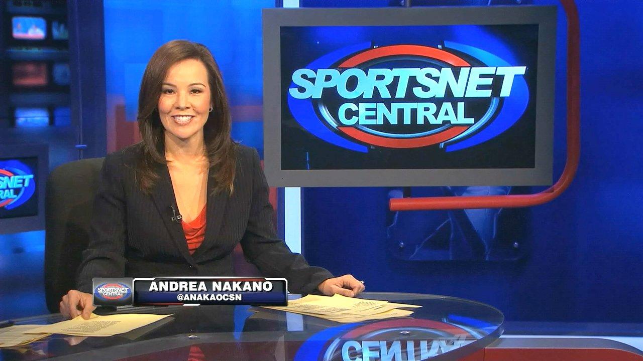 San Francisco Sports >> Andrea Nakano - Andrea Nakano, CSN SportsNet Central Anchoring