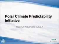 WCRP 16/10-2 M.Raphael: Polar Climate Predictability Initiative