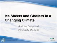 WCRP 16/10-3 A Shepherd: Ice Sheets and Glaciers in a Changing Climate