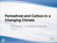 WCRP 16/10-5 T.Schuur: Permafrost and Carbon in a Changing Climate