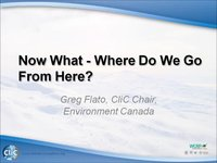 WCRP 17/10-1 G. Flato Now What - Where Do We Go From Here?