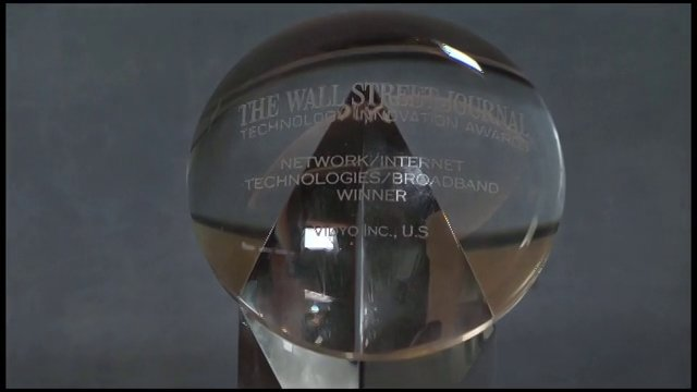 Vidyo Receives Wall Street Technology Award