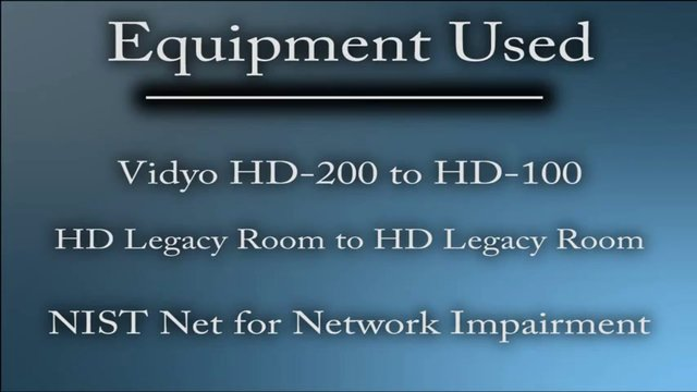 Vidyo vs. Legacy H.264 comparison video