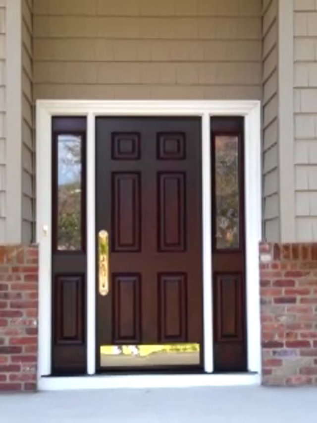 1000 images about front doors on pinterest entry door for Exterior side entry doors