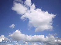 青空と雲 微速度撮影