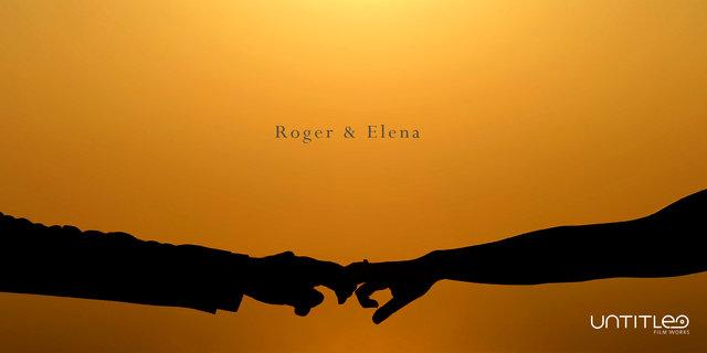 Roger + Elena, Santorini :: untitled film works