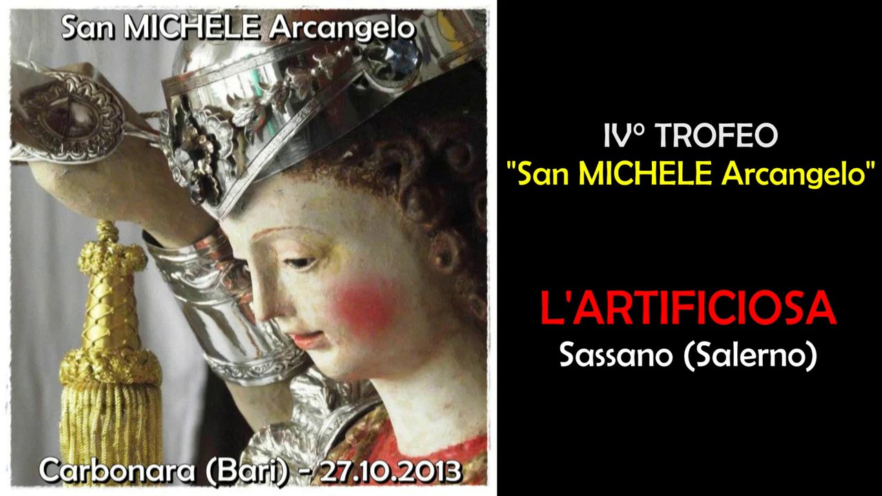 CARBONARA (Bari) - L'ARTIFICIOSA dei F.lli DI CANDIA (2013)