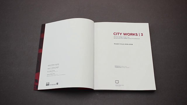 City Works 3. Student Work 2008-2009 / Oscar Riera Ojeda Publishers