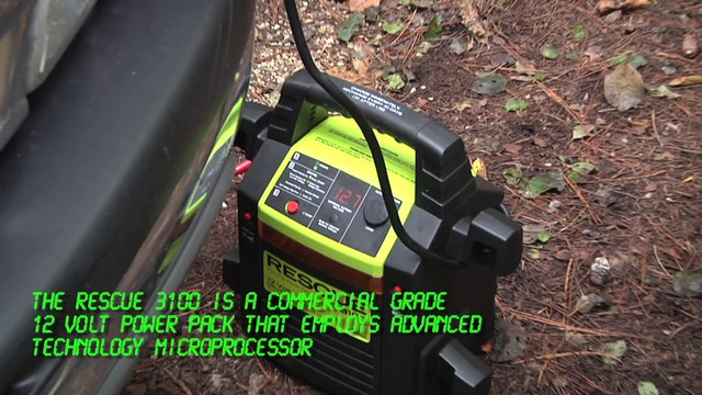RESCUE 3100 Portable Power Pack with Microprocessor Technology