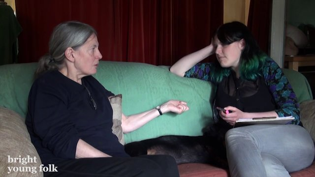 June Tabor & Lucy Ward talk about singing the words