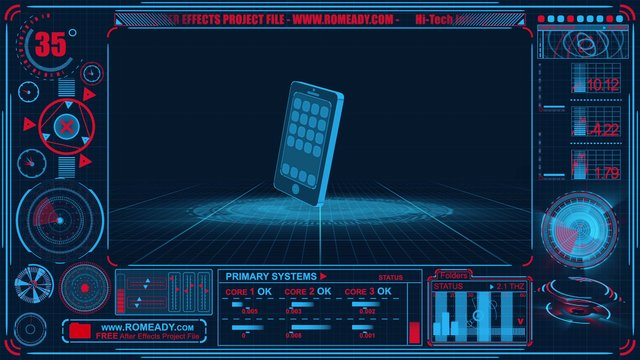 Hi Tech Interface Free After Effects Template On Vimeo