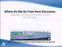 WCRP 18/10-1 Where Do We Go From Here Discussion