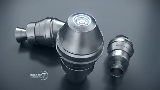 Motores Cohete - Vray 1.8 (2.4)  C4D