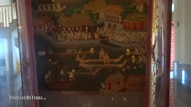 Wat Maha Chedi. Ban Krut, Prachuap Khiri Khan Thailand