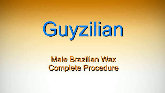 Brazilian Waxing For Men Male Models Picture