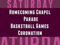 Saturday Homecoming Events