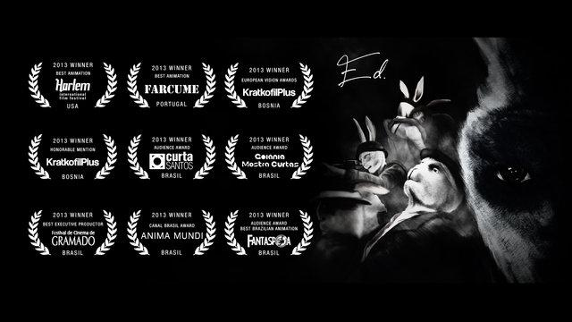 Ed   Official Trailer   3D Animated Short Film