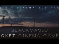First Blackmagic Pocket Cinema Camera - Cinema DNG raw Footage