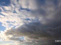 夕方の雲の流れ 微速度撮影 だいぶ冬らしい雲になってきました
