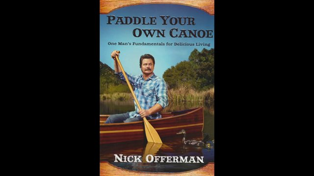 nick offerman how to build a canoe
