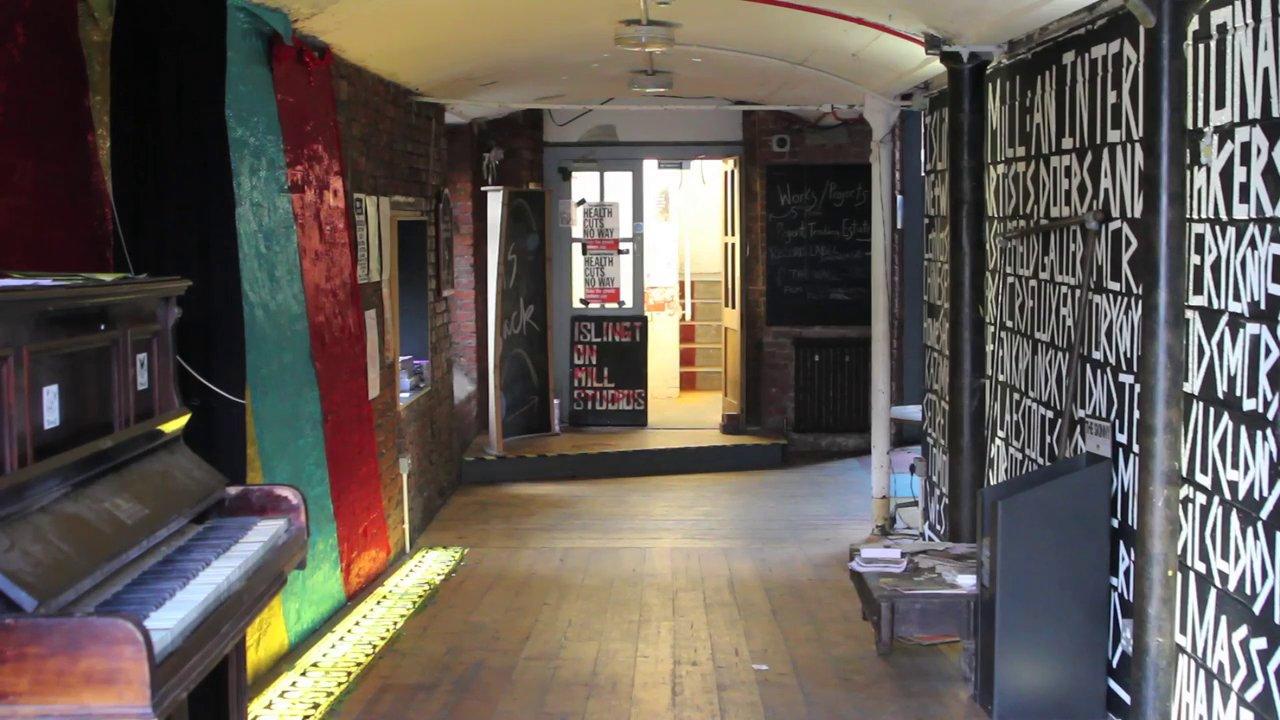 Inside Islington Mill Trailer