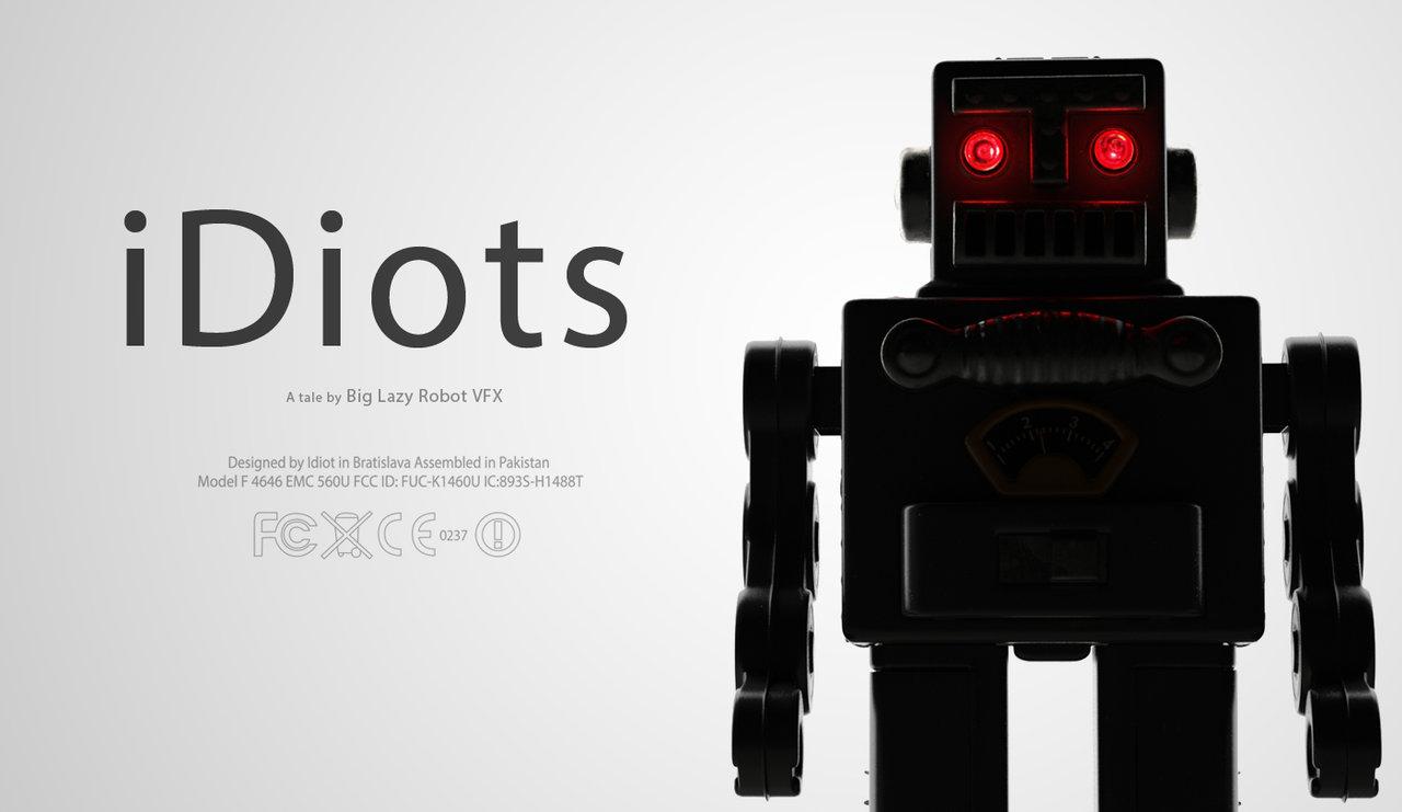Idiots: uma animação que nos mostra como somos robôs programados para comprar o que é inútil.