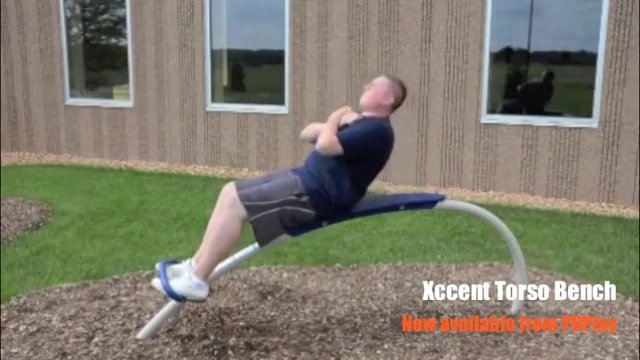 Xccent Torso Bench available from PDPlay on Vimeo