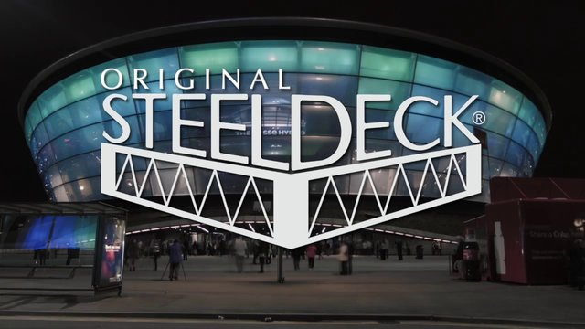Steeldeck APack Retractable in the Glasgow Hydro Arena (Corporate Presentation)
