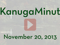 Kanuga Minute - November 20, 2013