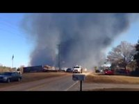 Fire at Carolina Shavings in Clinton