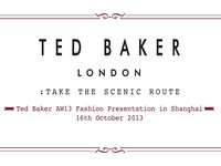 Ted Baker A/W 13 Fashion Presentation Shanghai September 2013