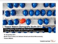 Webinar: Demografie - Chance oder Risiko für Unternehmen