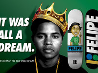"""IT WAS ALL A DREAM"" Felipe Gustavo is now pro!"