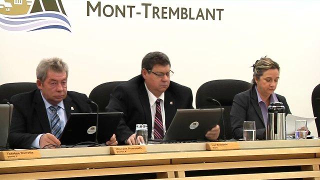 Conseil de Ville de Mont-Tremblant  novembre 2013