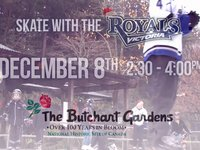 Vimeo - The Victoria Royals Skate at The Butchart Gardens - Dec 8, 2013.