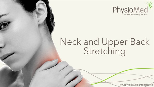 Neck and Upper Back Stretching Exercises: Occupational Physiotherapy ...